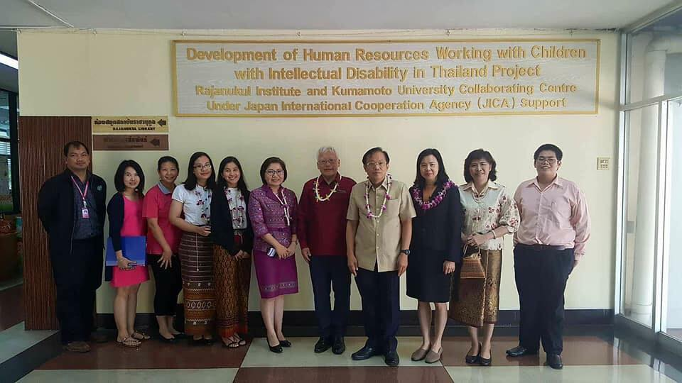 Prof. Duujian Tsai was invited to jon smart hospital collaborating meeting on April 12 , 2018 at Rajanukul Institute in Thailand.