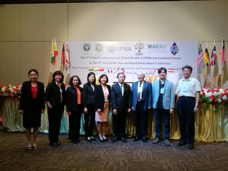 Taiwan team attend the 6th CDMH in Chiang Mai on September 5-7.