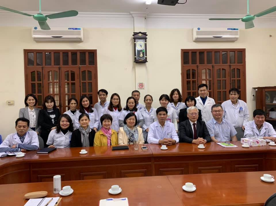 Collaborating meeting with Hanoi Psychiatry Hospital