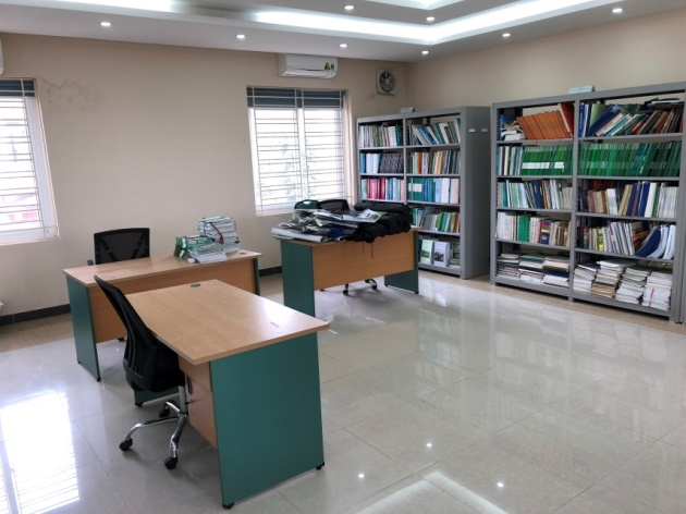 Office area of VAAS-NCHU ASTIC.