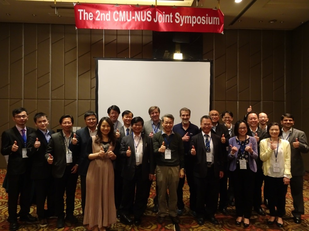 China Medical University hosted the second CMU-NUS Joint Symposium in Taichung on May 21-22, 2018.