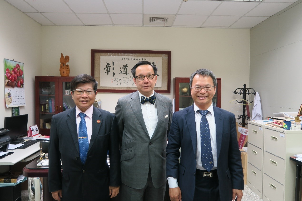 China Medical University and National University of Singapore signed two Memoranda of Understanding to strengthen bilateral collaboration