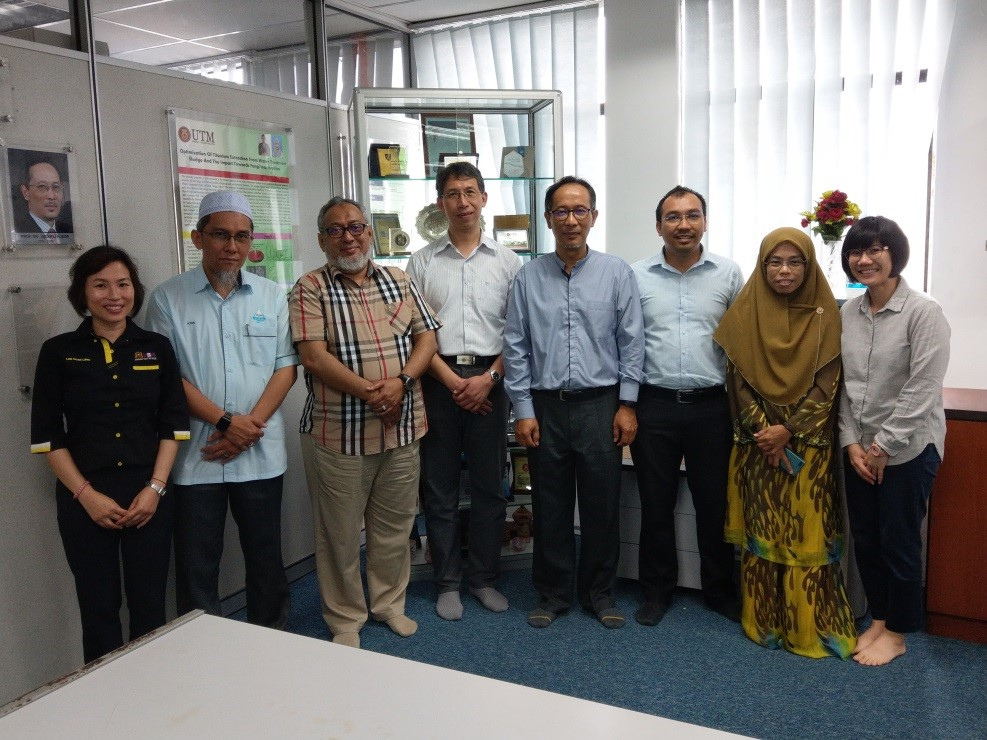 National Tsing Hua University and UTM/USM/UniMAP established the Taiwan-Malaysia WISE Center for Clean Water and Sustainable Energy.