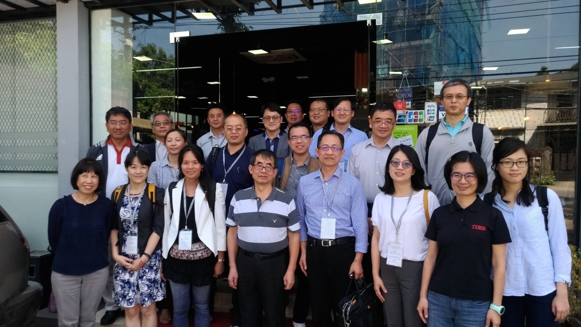 Delegates of NCNU and the partner Universities' professors visited Taipei Economic and Cultural Office to meet up with Ambassador Chang.