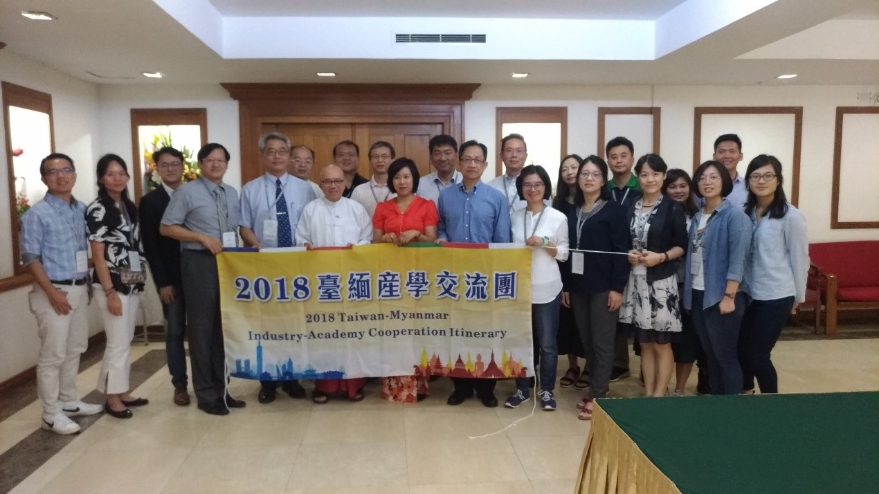 Myanmar young entrepreneurs came to Taiwan and participated training workshop with classes taught by Taiwanese professors