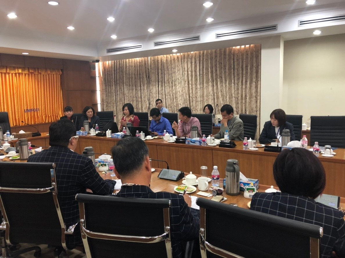 This was the first-ever forum between Taiwan and Myanmar which was held in UMFCCI office in Yangon.