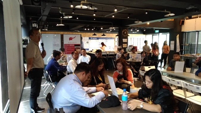 NCNU has organized Taiwan-Myanmar Business Talents Matching Forum on March 29th, 2019. The event was held at Taiwan Start-up Hub which located at ASEAN Square, Taichung.