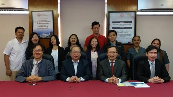 NCKU, Mapúa and Taiwan Water Corporation signed MOU.
