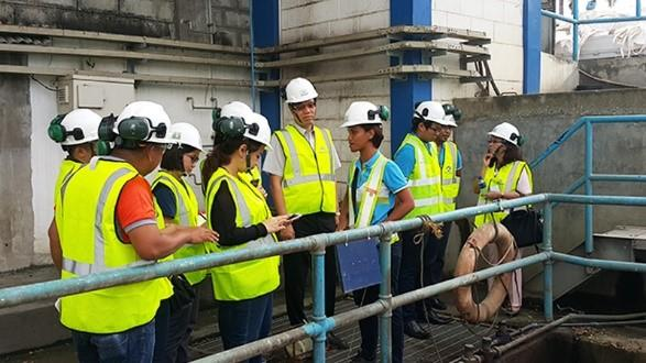 Mapúa and NCKU visited Maynilad water.