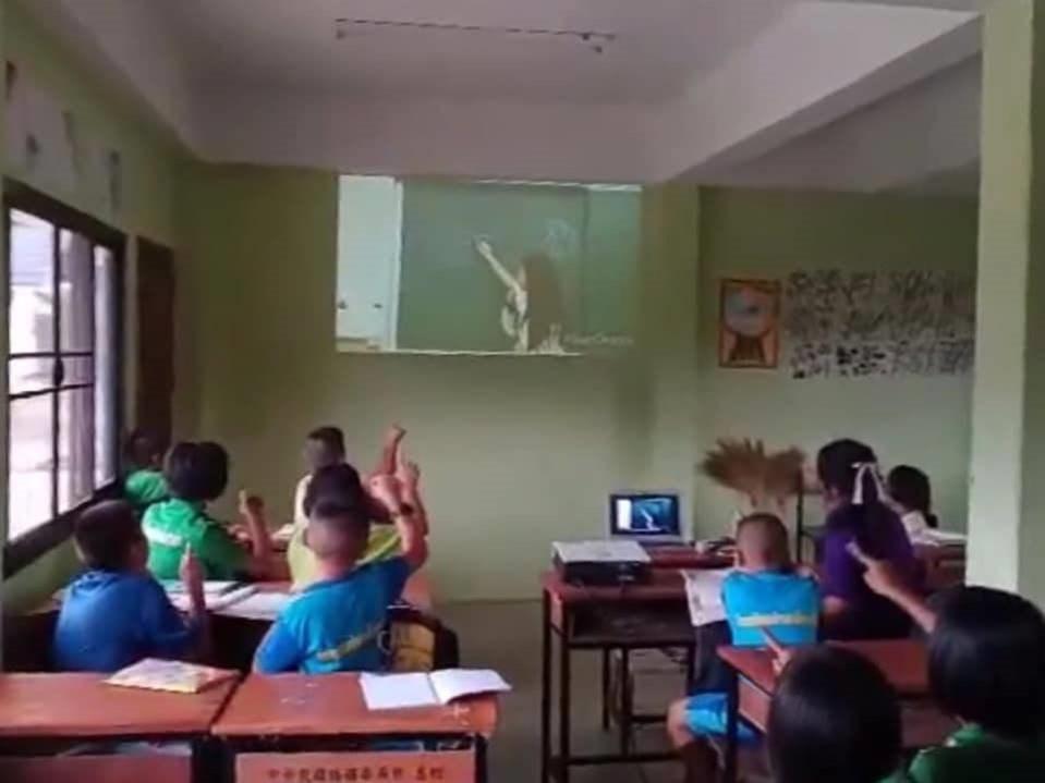 北教大志工建學習資源網 助泰國學童線上學華語的標題圖片