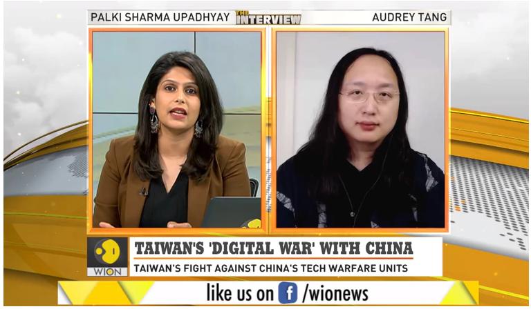 印媒專訪唐鳳:台灣以科技控制疫情打擊假消息的標題圖片