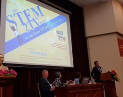 臺灣師範大學科學教育中心受邀分享科教新南向計畫成果的標題圖片