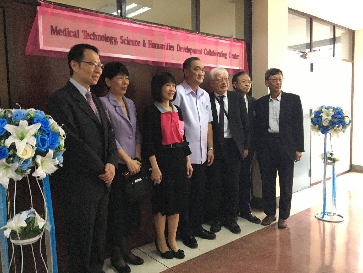 奠定科技部臺泰海外科研中心的基石-臺灣醫療經驗的南向之旅的標題圖片