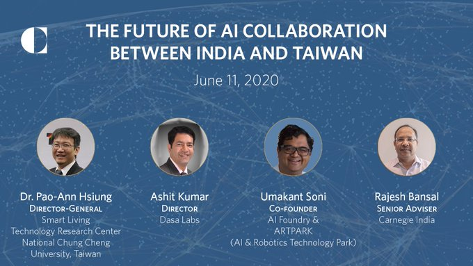 The Future of AI Collaboration between India and Taiwan's picture