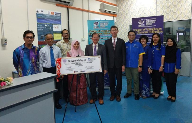臺馬潔淨水質與永續能源海外科研中心於馬來西亞大學玻璃市分校舉行開幕及中心辦公室剪綵儀式的標題圖片