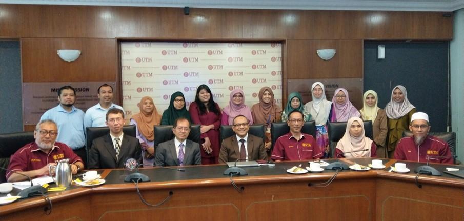 臺馬潔淨水質與永續能源海外科研中心於馬來西亞理工大學進行開幕及揭牌儀式的標題圖片