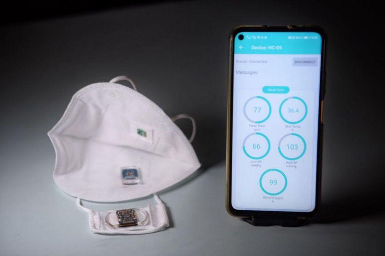 新加坡研發智慧口罩 可遠端偵測染疫徵兆的標題圖片