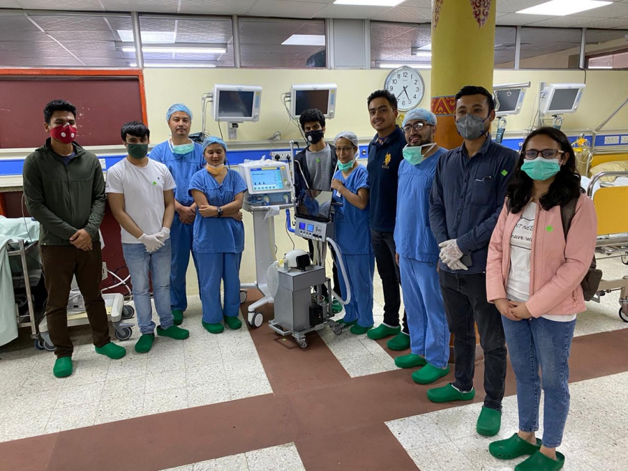 以互動機器人起家 尼泊爾新創公司計劃開發呼吸器的標題圖片