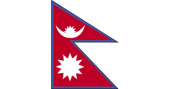 尼泊爾的國旗圖片