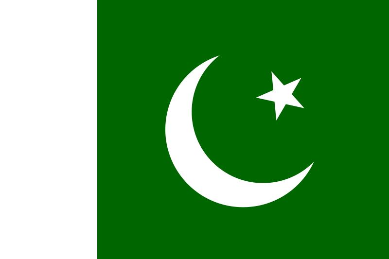 巴基斯坦的國旗圖片
