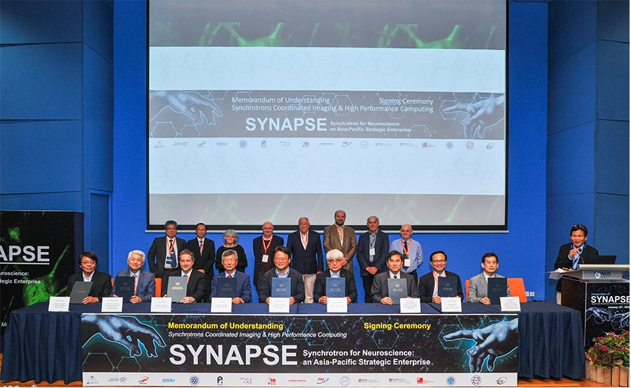The historical scientific enterprise SYNAPSE inaugurated:Asia-Pacific scientists join forces for the first comprehensive map of a human brain's picture