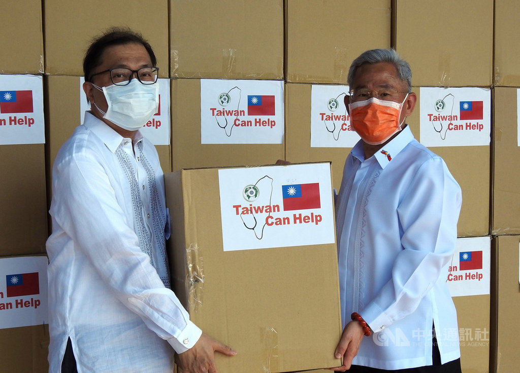 臺灣捐菲律賓30萬片口罩 MECO副主席由衷感謝的標題圖片