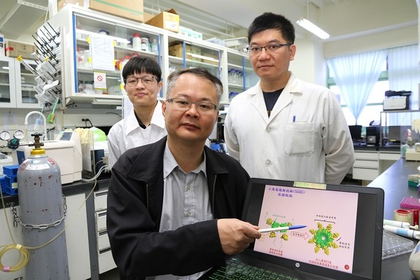 Taiwan research team proposes alternative coronavirus cure's picture