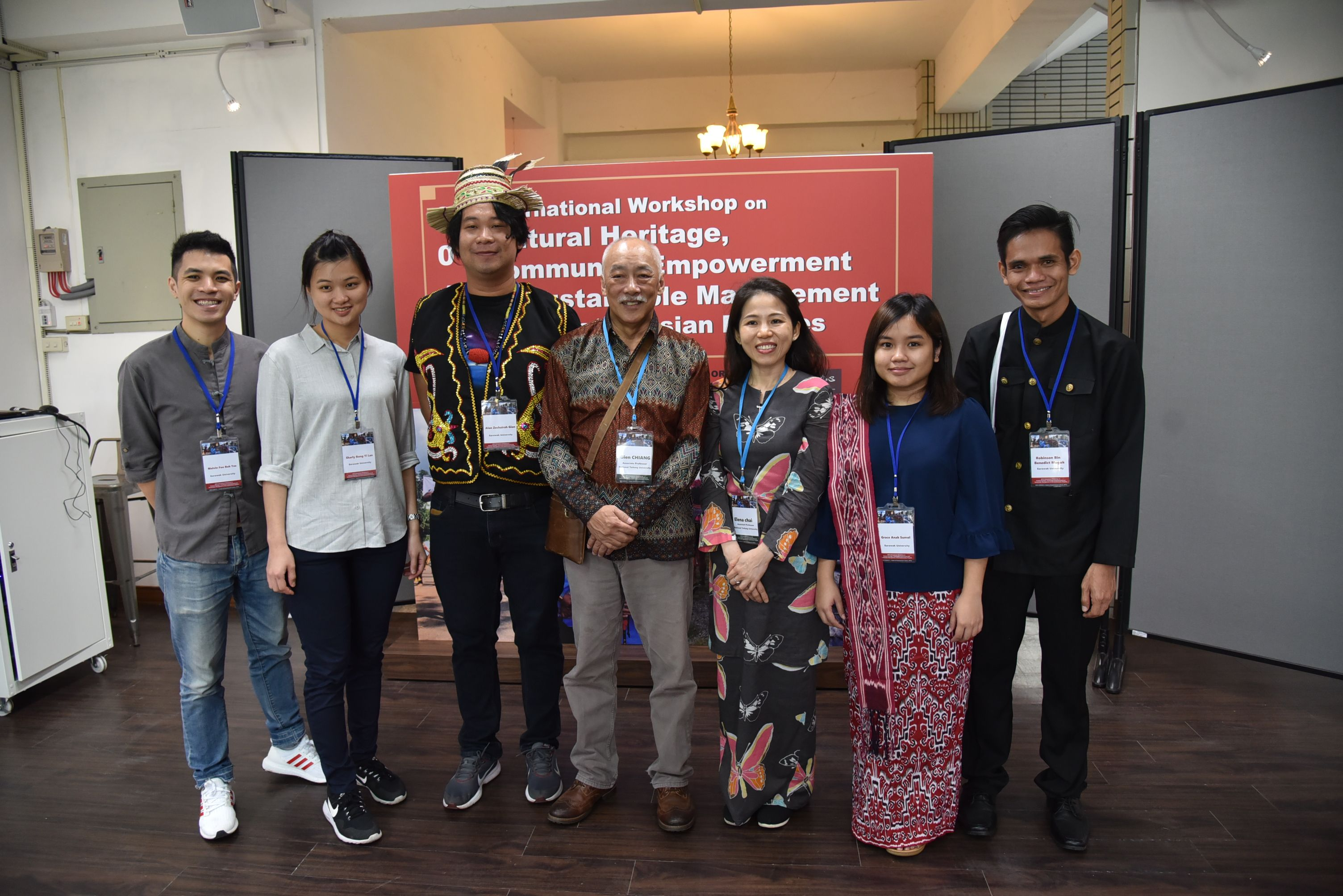 Five Unimas students attend workshop in Taiwan's picture