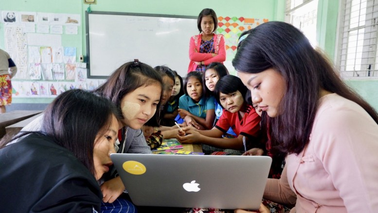 Growing edtech company in Myanmar highlights digital literacy's picture