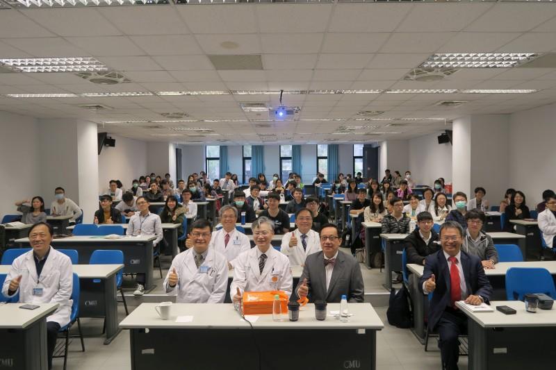 中國醫藥大學與新加坡國立大學簽訂合作備忘錄並強化雙邊合作的標題圖片