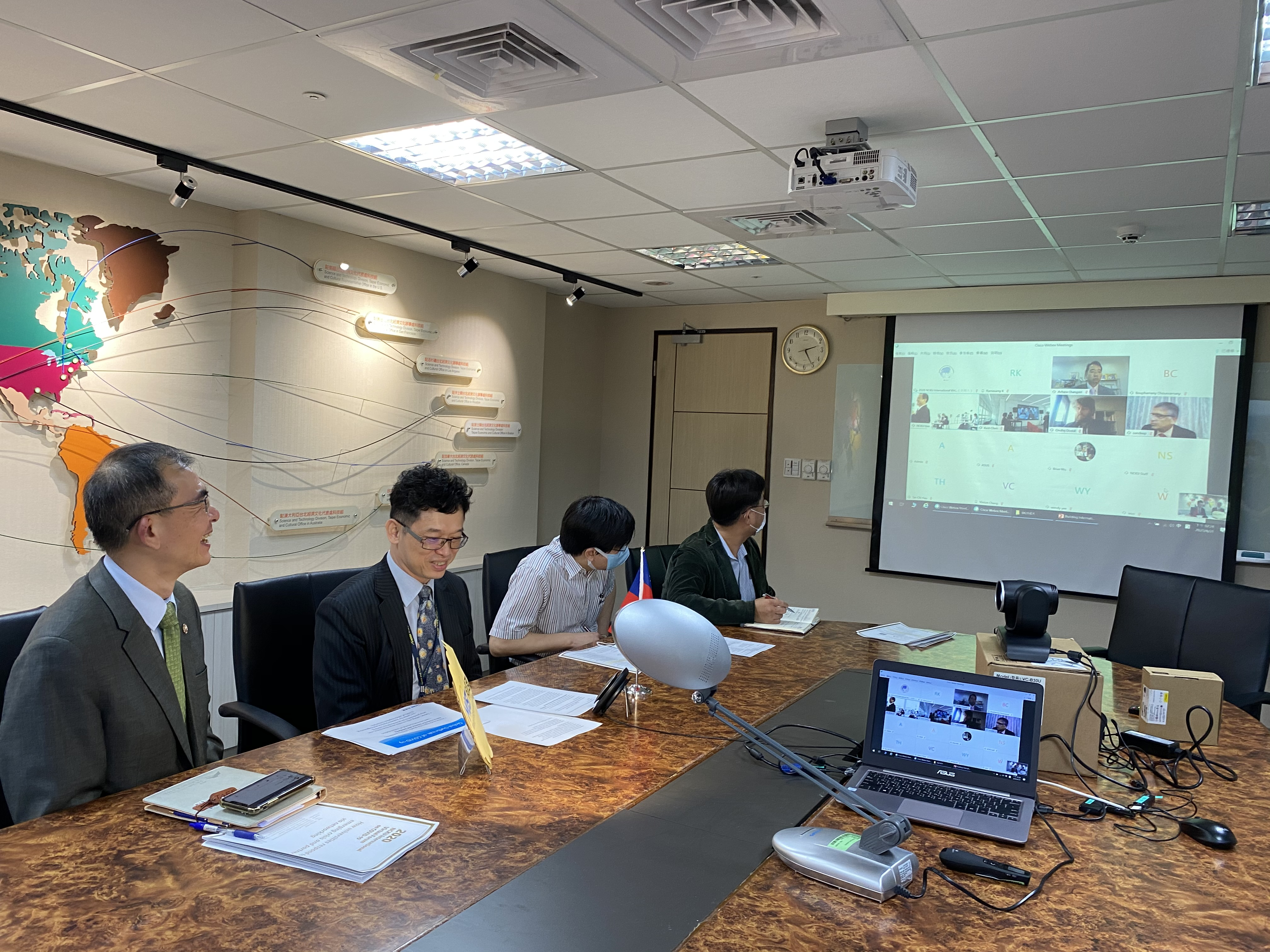 International Virtual Forum on COVID-19, Sharing Taiwan's Success Story's picture