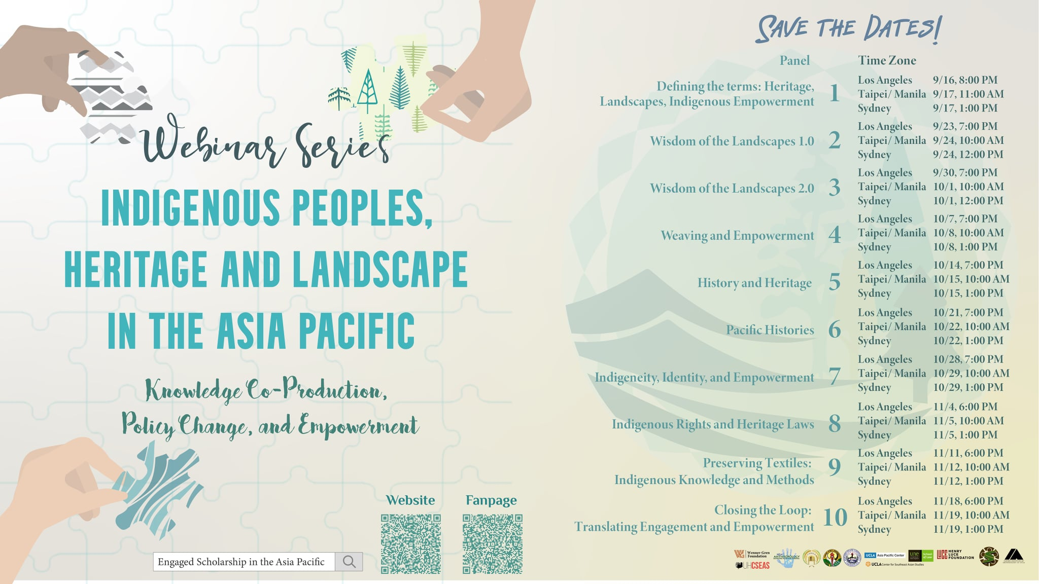 Webinar Series: Indigenous Peoples, Heritage and Landscape in the Asia Pacific: Knowledge Co-Production, Policy Change, and Empowerment's picture