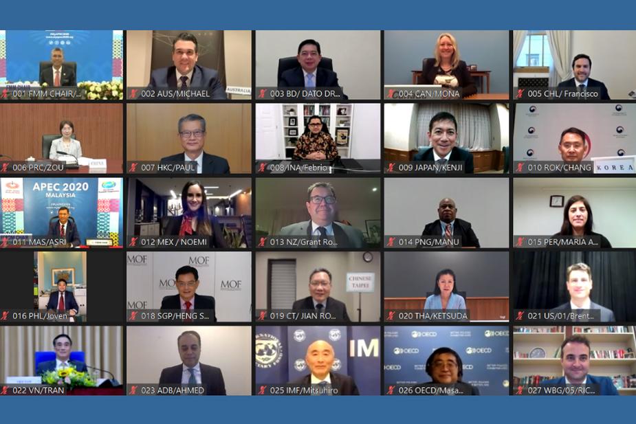 APEC財長會議:疫情加速數位化攸關企業生存的標題圖片