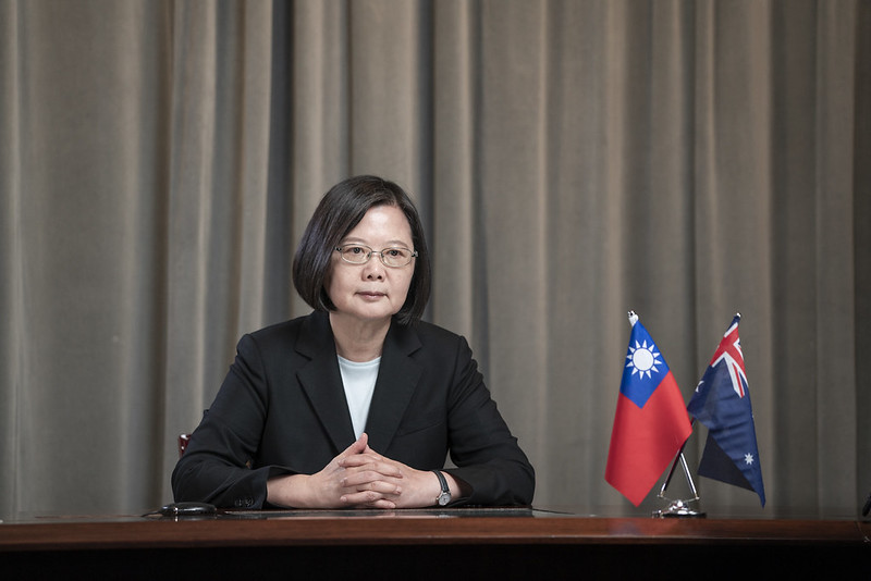 President Tsai addresses Indo-Pacific Leaders Dialogue session's picture