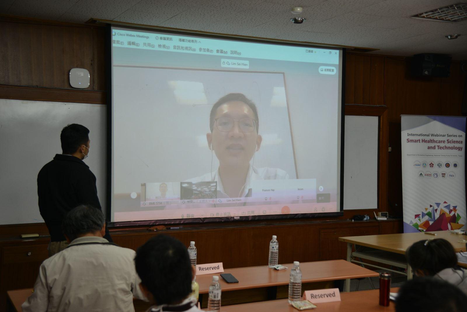 Lim Sei Hien博士分享3D體外模型與生醫新創實務