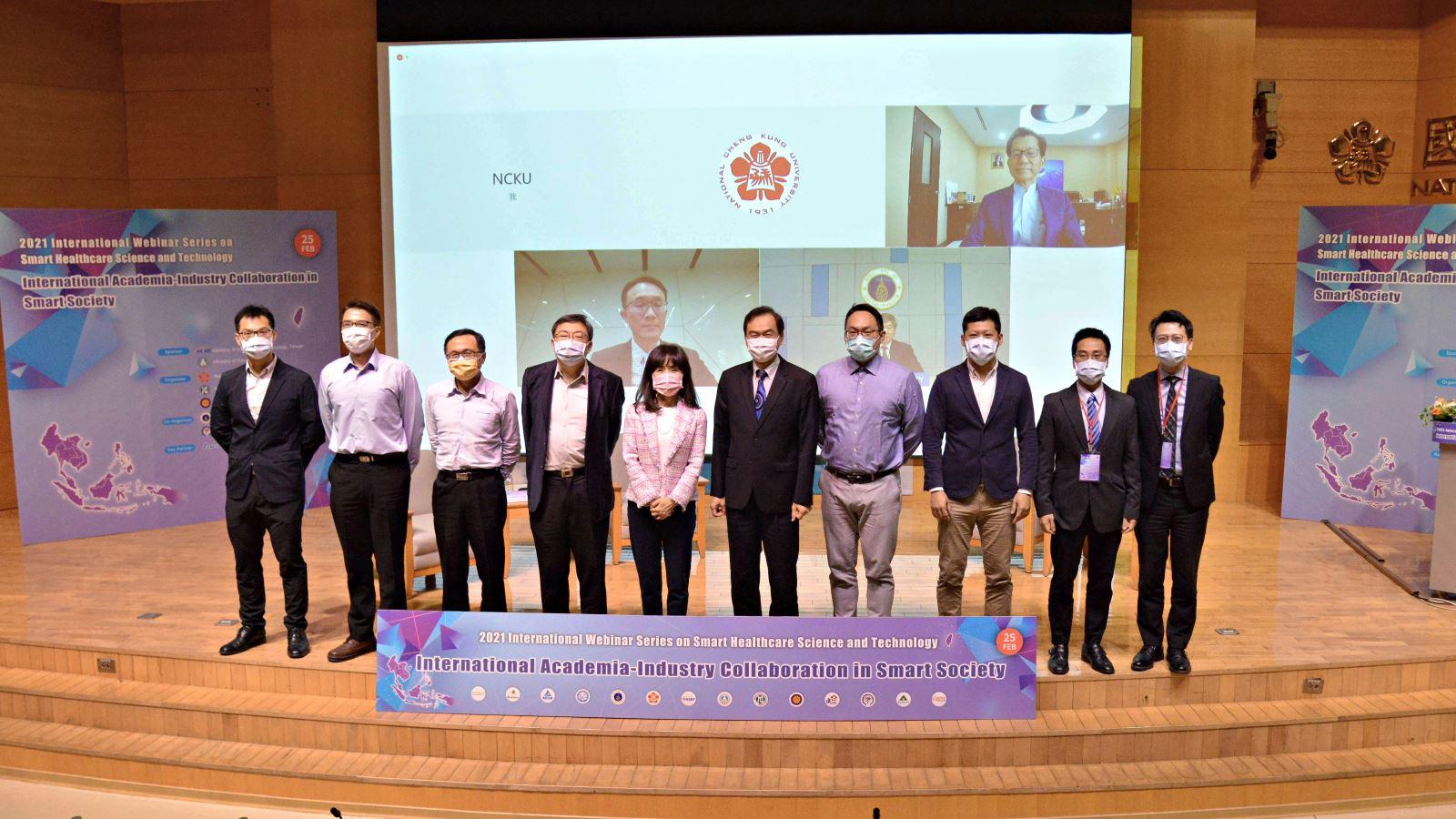 圖14:台泰國際產學合作研討會合照