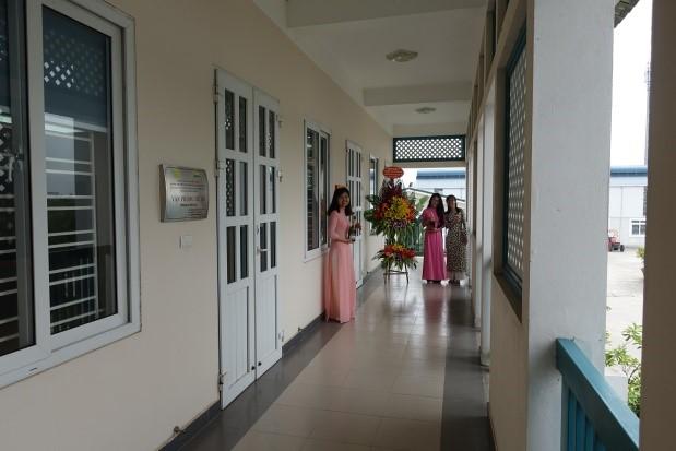 越南國家農業科學院(VAAS)在最新建築提供空間作為「VAAS-NCHU ASTIC」辦公室。
