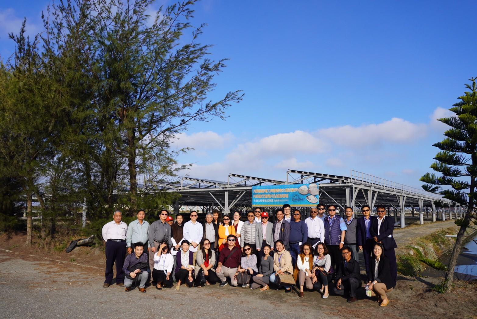 2019.12.23 參訪向陽優能電力太陽能公司
