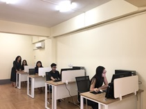 The office space of EBRD is ready for use that can accommodate 6 staff members. The remote conference-call system is working properly that is able to contact NCNU effectively.