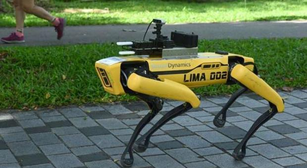 Singapore releases the robot hounds to enforce social distancing in parks