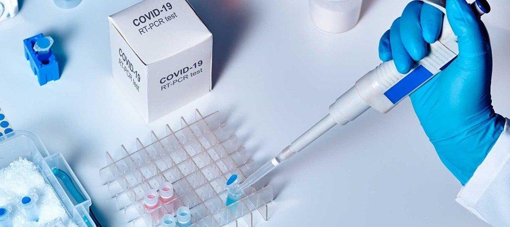 旭基生醫擁有完善新冠病毒檢測方案,含前端檢體保存、病毒核酸提取及後端新冠病毒檢測。 旭基生醫/提供