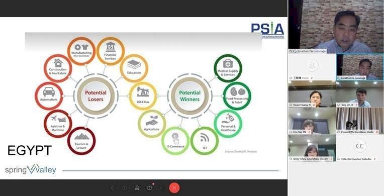 經濟部工業局系統整合推動計畫辦公室(SIPA)今天(27日)首度攜手菲律賓軟體協會(PSIA),舉辦「台灣-菲律賓數位防疫應用專家線上研討會」,將台灣防疫經驗輸出國際。(圖/資策會提供)